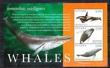 Guyana 2012 baleines feuillet n° 6235 à 6237 neuf ** 1er choix