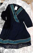 Kleid in 44 von C&A (Yessica), dunkelblau, 3/4-Arm, NEU, Preis: 29€