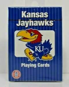PlayMonster - NCAA Collegiate Teams Playing Cards Kansas Jayhawks New/Sealed