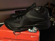 New Rare Nike KD kevin durant space iv black out batman size 8.5 473679-002