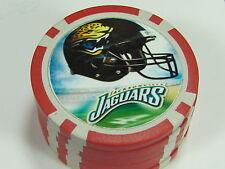 Jacksonville Jaguars football $5 Las Vegas poker chip.. combine shipping save $$
