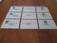 ROBERTO CLEMENTE PUZZLE PIECES 1-63 COMPLETE MINT donruss 1987