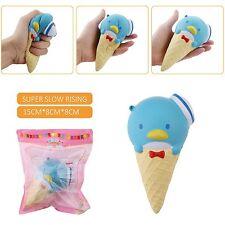 15CM Jumbo Penguin Ice cream Kawaii Cute Squishy Slow Rising Scented  Kid Toy