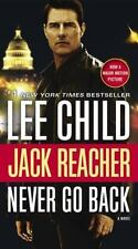 Never Go Back by Lee Child, Jack Reacher Series #18, New, paperback
