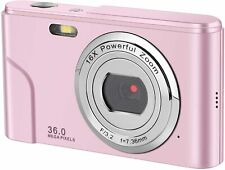 IEBRT Mini Digital Camera with Full Hd 1080p 2.4 Inch and 16x Digital Zoom LCD S