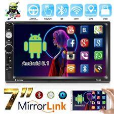 """2 Din 7"""" Android 8.1 Radio del coche Estéreo WIFI GPS Navi FM BT MP5 Link Mirror"""