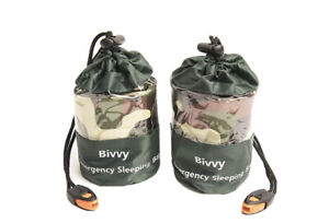 Survival Bivvy Bivy Sleeping Bag Mylar Emergency