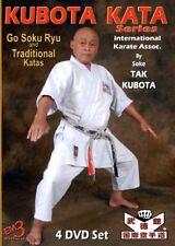 Kubota Kata Series (4 Dvd Set) by Soke Tak Kubota - Ika Karate