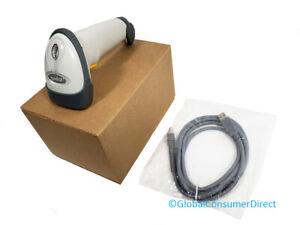 Symbol Motorola LS2208 1D Laser Barcode POS Scanner LS2208-SR20001 +NEW USB!