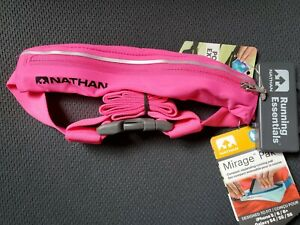 Nathan High Vis Pink Mirage Pak belt for iPhone 5/6/6+ or Galaxy S4/S5/S6