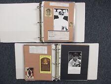 Senators(2 Albums/152 Pages/100 Autographs/245 + Players/Some Obit/Rick Ferrell)