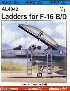 Plus Model - Ladder for F-16B/D Leiter für Modell-Bausatz 1:48 NEU OVP tipp kit