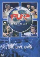 """PUR """"ES IST WIE ES IST-DIE LIVE DVD"""" DVD NEW+"""