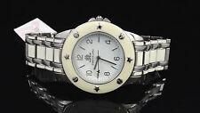 JLo by Jennifer Lopez JL2505WTWT Sassy Two-Tone Enamel Women's Watch $110
