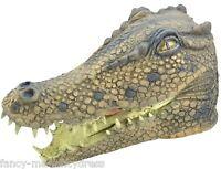 pour Hommes Femmes Crocodile Masque caoutchouc animal