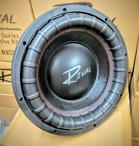 """NEW Rival Mobile Electronics N15 15"""" subwoofer 2250w RMS 4""""vc D1 ohm"""