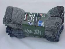 Kirkland Signature Men's Merino Wool Trail Socks 4 Pair Large Made in USA