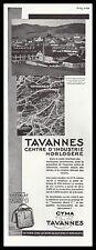 Publicité Montre Tavannes Suisse   Montres Watch photo vintage ad  1930  - 2h