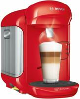 Bosch TAS1403 Tassimo Vivy 2 Coffee Maker Automatic Of Caps 1300W Red Compact