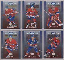 1996-97 Leaf Limited Montreal Canadiens Team Set (6) Saku Koivu Etc.