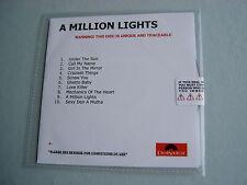 CHERYL COLE A Million Lights sealed promo CD album