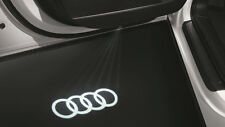 LED Einstiegsleuchten Original Audi Ringe Schriftzug Türbeleuchtung 4G0052133G
