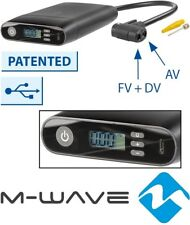 M-Wave AKKU-Mini-Pumpe ELUMATIK USB Digital-Manometer Luft-Pumpe Auto Fahrrad