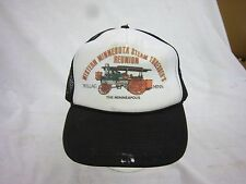 trucker hat baseball cap STEAM THRESHER ROLLAG snapback cool mesh vintage 1980