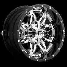 FUEL 2 Piece 20 x 12 Lethal Car Wheel Rim 8x180  Part # D26620201847
