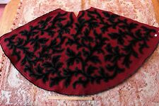 "French Silk Velvet & Wool Vintage Women's Clothing Cape Fabric~26""LX1yd31""W"