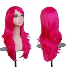 """28"""" Long Thick Natural AS Real Remy Hair Straight Curly Wave Full Wig Ombre Hair"""