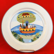 "NOAH'S ARK Naif Design by Villeroy & Boch Platter 12"" NEW NEVER USED Luxembourg"