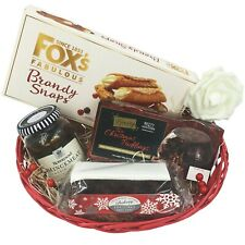 Personalised Couples Festive Food Gift Hamper Parents Foodie Christmas Gift Set