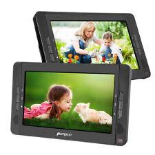 """2*10.1"""" HD Tragbarer DVD Player Auto Kopfstütze Monitor Fernseher AV-IN/OUT AKKU"""