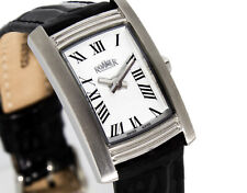 Roamer Watch Stainless Steel Swiss Made Rectangular 766953 Luxury Dreamline