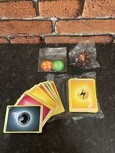 Pokemon - 44 Energy Cards, Tokens & Dice - NEW