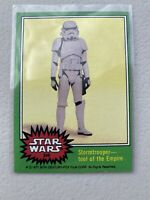 1977 Topps Star Wars Stormtrooper Tool of the Empire #246 MINTY