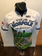 MENS Large Louis Garneau Cycling Jersey Tour De Norfolk Ontario