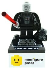 sw1029 Lego Star Wars 75261 Darth Vader 20th Anniversary Minifigure w Base Plate