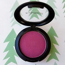 Authentic MAC Pro Longwear Eyeshadow *TEASE WITH EASE* Dark Raspberry Pink RARE