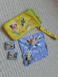 Ex Con Phone DS Glasses Tinkerbell Case w. Arm Strap Holder, Screen Wipe & game