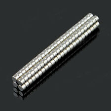 "NEODYMIUM DISC MAGNETS 3x2MM 0,12x0,08""STRONG CRAFT 3MM DIA X 2MM 5/10/25/50/100"