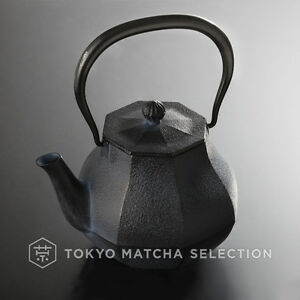 [Rare] Nanbu Tetsubin - Miyabi (L) - 1.0 Liter : Japanese blue cast iron teapot