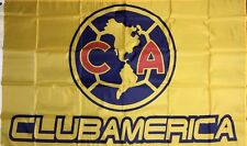 CLUB AMERICA 3x5 Feet FLAG BANNER, HOME COLORS, Large Size