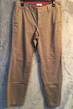 Dockers Favorite Fit Womens  Khaki Pants Straight Leg Size 6 Med. #cb023