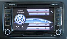 Autoradio VW SEAT 2 DIN GPS Bluetooth iPod DVD DIVIX Golf 5/6 Passat Polo Eos