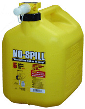 No Spill 1457 5 Gallon Carb Compliant Yellow Diesel Fuel Can Container