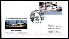 Ferrovia. InterCity Express Ice 403 (2000). FDC-LETTERA. Berlino. BRD 2006
