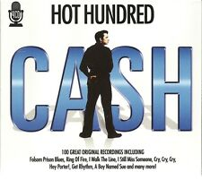 HOT HUNDRED CASH - 4 CD BOX SET - 100 GREAT ORIGINAL RECORDINGS - JOHNNY CASH