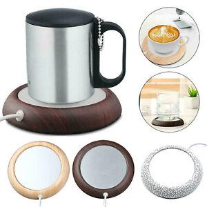 USB Electric Coffee Mug Warmer Pad Tea Beverage Heating Plate Desktop Cup Pad AU